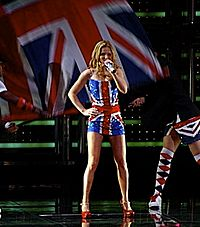 Geri Halliwell in concert cropped