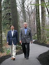 Shinzo Abe & George W Bush, 2007Apr27