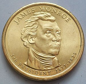 James Monroe Facts for Kids
