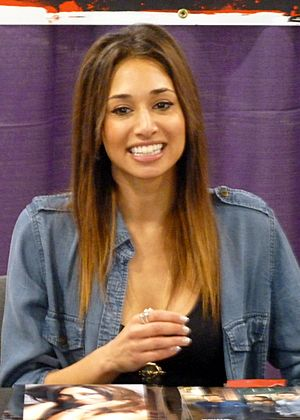 Meaghan Rath of Being Human at Wizard World Toronto 2012.jpg