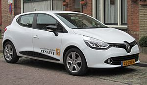 Renault Clio TCe 5 door in Aardenburg 2013