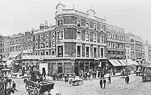 The Angel Islington 1890s