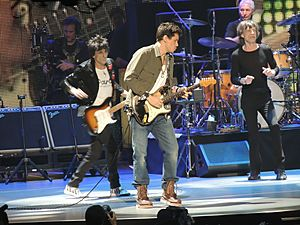The Rolling Stones with John Mayer, Prudential Center 2012-12-13