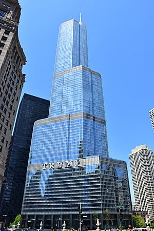 Trump International Hotel and Tower in Chicago 2016