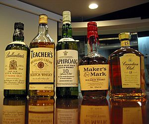 Whiskies of VariousStyles