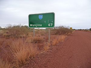 Wittenoom WA - Road Sign