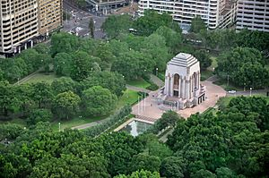 ANZAC War Memorial, Hyde Park, Sydney