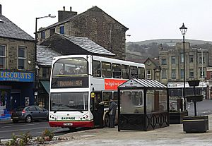 Bacup's bus station