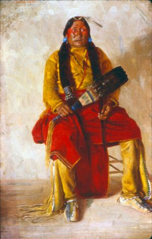 Chosequah- Comanche Indian