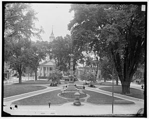 Court Square Springfield Mass 1905