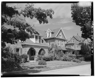 Keasbey and Mattison Company, Supervisor's House, Ambler, Montgomery County, PA HABS PA,46-AMB,10P-1