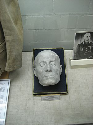 Rommel death mask