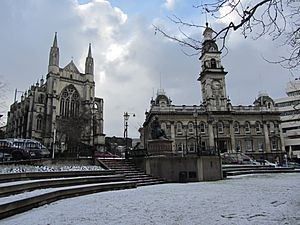 St Paul's Cathedral and Town Hall, Dunedin NZ