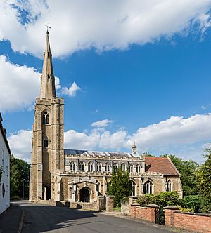 St Wendreda's Church Exterior, March, Cambridgeshire, UK - Diliff