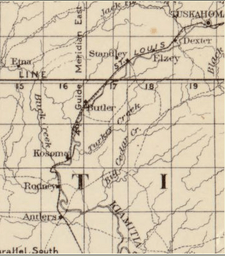 Charles Fitch Map