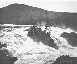 FMIB 48998 Head of the great falls in the Kootenay River