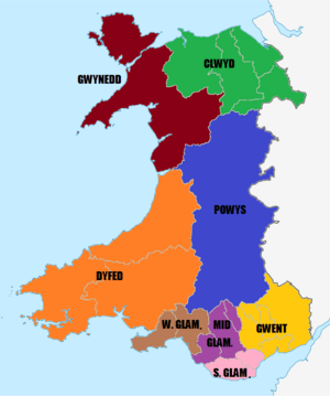 Preserved counties Wales