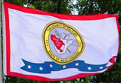 Raleigh County, West Virginia Flag