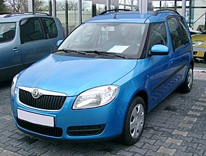 Skoda Roomster front 20071125