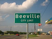 Beeville, TX, sign IMG 0979