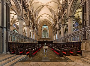 Canterbury Cathedral Choir 2, Kent, UK - Diliff