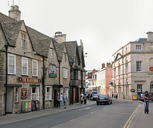 Castle Street Cirencester 30th Aug 2001