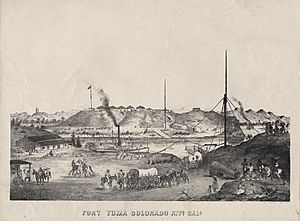 Fort Yuma California 1875