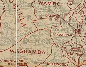 Jondaryan Division, March 1902