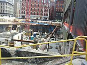 Millennium Tower construction, 2 May 2014