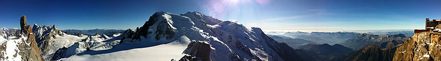 Mt Blanc full Panorama