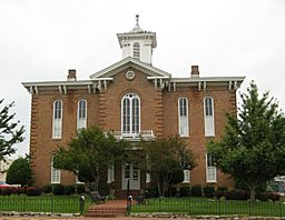 Old Randolph County Courthouse in downtown Pocahontas