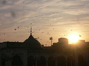 Sunset over Data Durbar