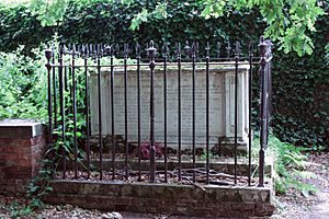 The grave of John Constable, High Hampstead, London