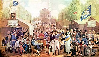 4th-of-July-1819-Philadelphia-John-Lewis-Krimmel