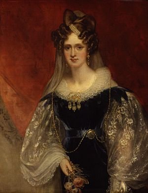 Adelaide Amelia Louisa Theresa Caroline of Saxe-Coburg Meiningen by Sir William Beechey