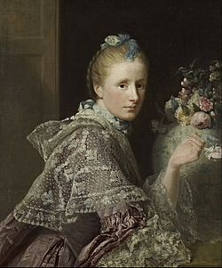 Allan Ramsay - The Artist's Wife- Margaret Lindsay of Evelick, c 1726 - 1782 - Google Art Project