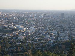 Little Armenia as viewed from Griffith Observatory