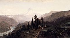 Mount Hood, Oregon by William Keith, c1881-83