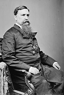 Thomas Swann of Maryland - photo portrait seated