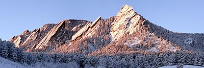 Flatirons Winter Sunrise edit 2
