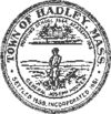Official seal of Hadley, Massachusetts
