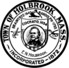 Official seal of Holbrook, Massachusetts