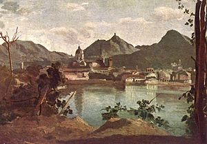 Jean-Baptiste-Camille Corot - Como and Lake Como