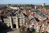 Lincoln Castle view