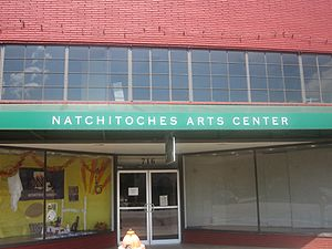 Natchitoches, LA, Arts Center IMG 1973