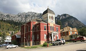 Ouray County CO Court House 1881 2006 01 13