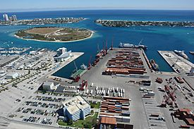 Port of palm beach harbour