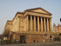 St Georges Hall, Liverpool, from the southwest