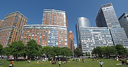 Battery Park City panoramic