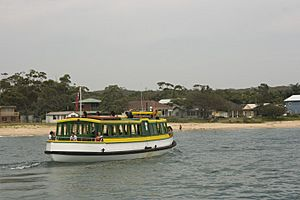 Ferry from Cronulla to Bundeena